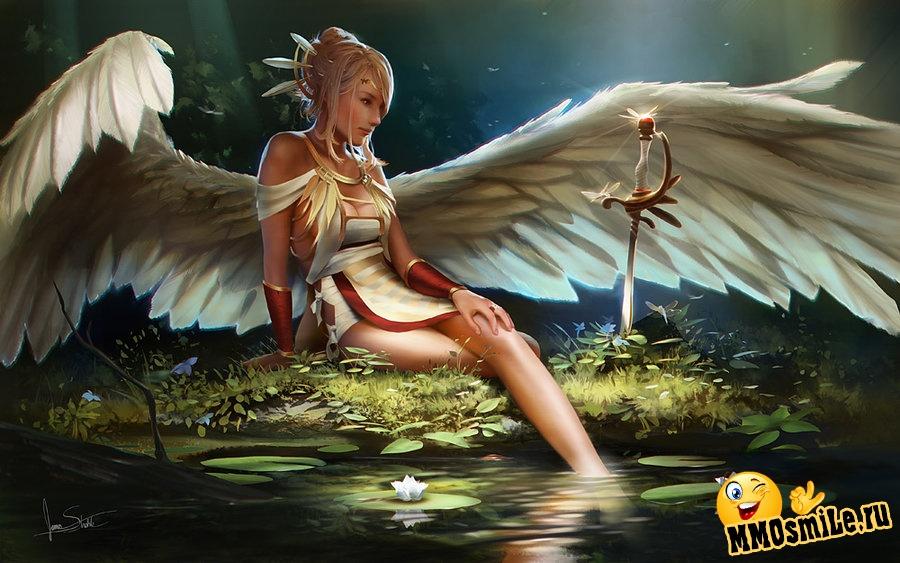 картинки девушка с крыльями ангела